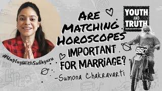 Are Matching Horoscopes Important For Marriage? Sumona Chakravarti Asks Sadhguru