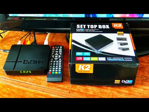 Декодер цифрового TV K2 DVB T2 / Digital TV K2 DVB T2 Decoder