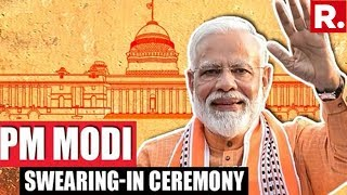 Republic TV's Live Report From PM Modi's Residence At 7 LKM In New Delhi | #ModiSarkar