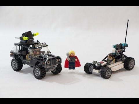 Vidéo LEGO Marvel Super Heroes 76030 : Hydra contre les Avengers