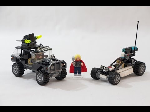 Vidéo LEGO Marvel 76030 : Hydra contre les Avengers