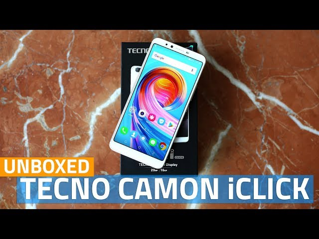 Tecno Camon iClick With AI Selfie Camera, 18:9 Display Launched in