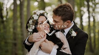 You NEED To See This First Look!!! Intimate Boho Backyard Wedding Film | Ryan + Aislyn