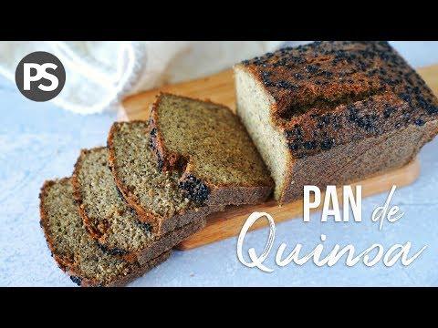 Pan De Quinoa Con 4 Ingredientes Sin Gluten