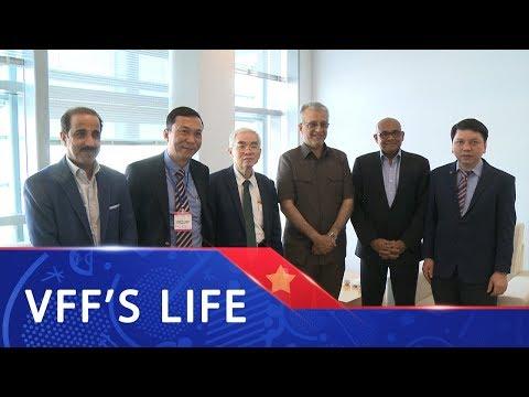 Chủ tịch AFC đến Việt Nam - cùng VFF phát triển bóng đá châu Á vươn tầm Thế giới