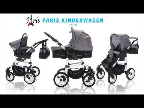 BEBEBI | PARIS | 3 in 1 Kinderwagenset