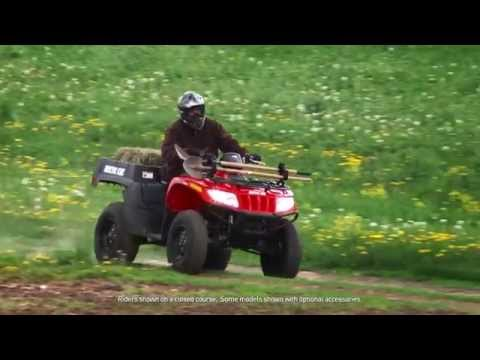 2016 Arctic Cat TBX 700 in Roscoe, Illinois - Video 1