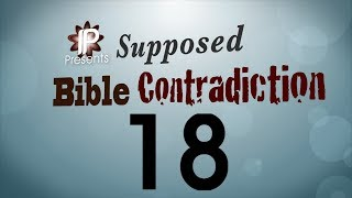 Supposed Bible Contradiction #18 (Can God do all things?)