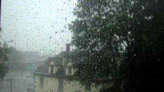 preview picture of video 'severe thunderstorm with continuous close CG lightning in Herkimer, NY on 9-4-2011 (part 2 of 2)'