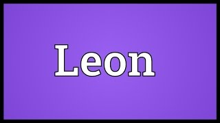 Leon Meaning