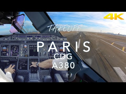 TakeOff Inside The Big Bird In Paris This Is My First Try With Subtitles From Youtube Feel Free To Collaborate