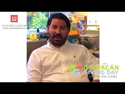 Guayacán Giving Day presenta Christian González de Wovenware y su razón para dar