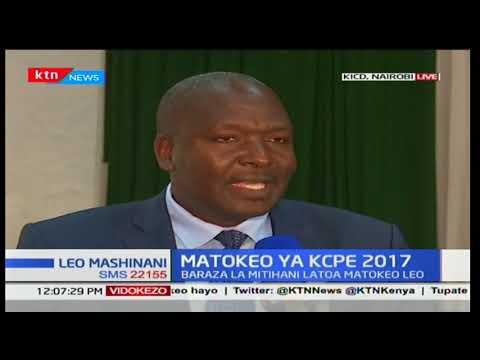 Mtazamo wa baadhi ya wadau KICD, Nairobi kutokana na matokeo ya KCPE 2017