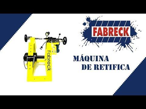 Apresentação da Máquina de Retificar cubos da Fabreck