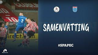 Samenvatting Sparta Rotterdam - PEC Zwolle   Eredivisie
