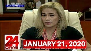 24 Oras Express: January 21, 2020 [HD]