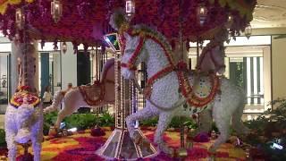 Las Vegas Nevada  Merry Go Round.....of flowers
