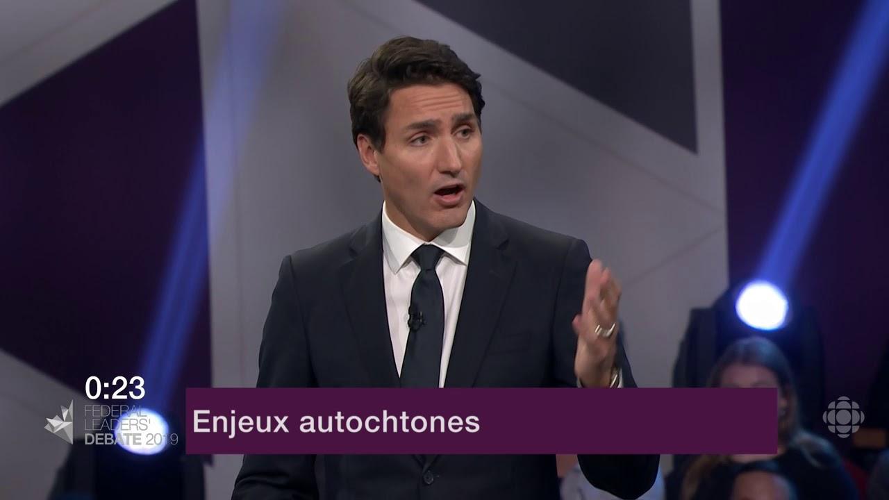 Justin Trudeau répond à la question d'un citoyen sur la réconciliation avec les Autochtones