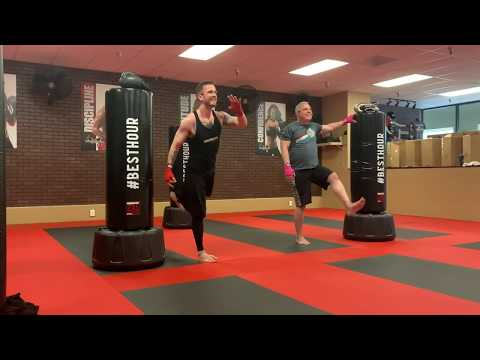 30-Minute REAL Kickboxing Class, 7 Rounds - May the FORTH BE WITH YOU!