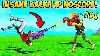 *INSANE* BACKFLIP NO SCOPE - Fortnite Funny Fails and WTF Moments! #792