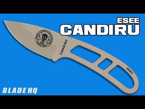ESEE Candiru Scales Orange G10 Handle Kit