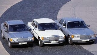 All new Mercedes similar? And before that it was different?