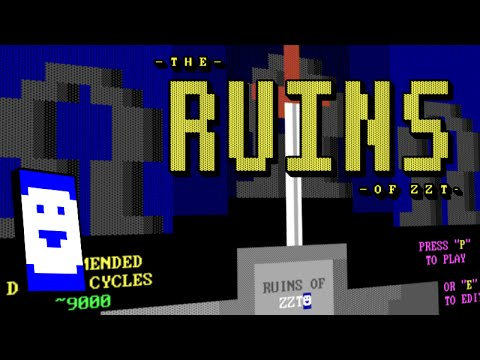 Stumbling through Ruins of ZZT