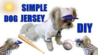 MVP Dodger Dog Baseball Polo Shirt: How to DIY DogSey