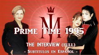 Michael Jackson & Lisa Marie at Prime Time 1995  -  Sub.Español