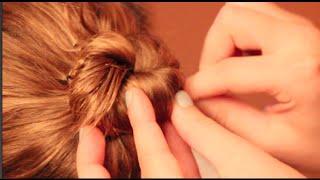 How to Make a Simple Dance Hair Bun