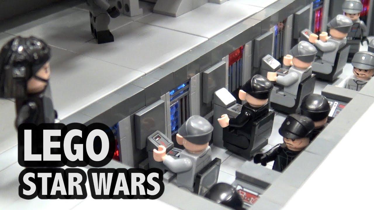 LEGO Super Star Destroyer Bridge   Custom Star Wars