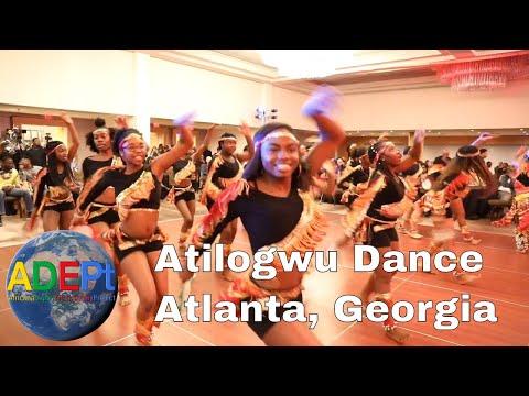 """Igbo """"Atilogwu"""" Dance at the African Studies Association 2018"""