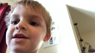 MY 3 YEAR OLD SON IS BECOMING A VLOGGER!