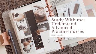 Study With Me: Advanced Practice Nurse Roles