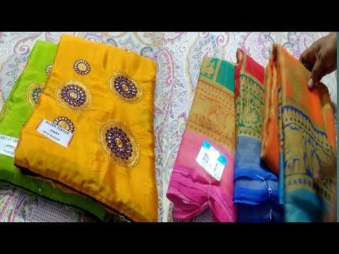Brasso sarees/Fancy sarees/latest saree collections/Sarees/Free shipping /Thirumathi Raji