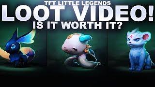 NEW LITTLE LEGENDS FOR TFT? UNBOXING 11 LOOT EGGS! | Teamfight Tactics