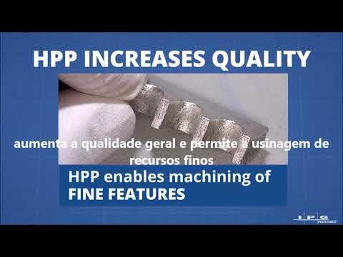 Novo Laser IPG modelo HPP: