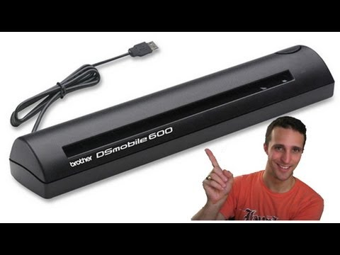 Brother DSMobile600 – Document Scanner – Unboxing, Review, and Demo