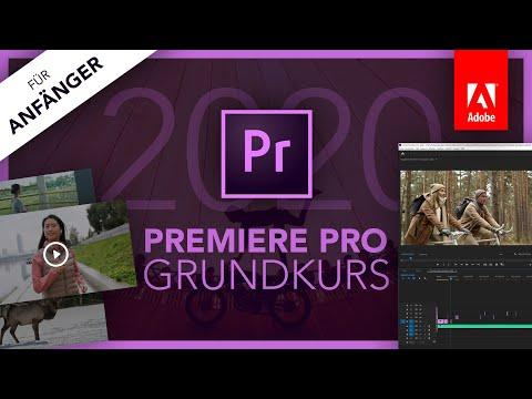 Adobe Premiere Pro 2020 (Grundkurs für Anfänger) Deutsch (Tutorial)
