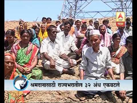 Shepwadi's Blind Help Shape Vision for the Village's Future (Marathi)