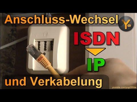 Wechsel vom ISDN- zum IP-Anschluss: Verkabelung