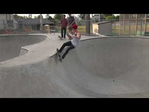 Skateboard Legend John Morgan - Seaside Oregon Skate Park