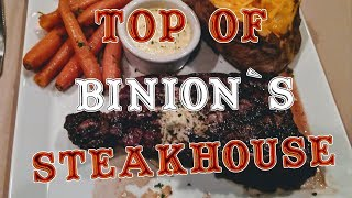 Top of Binion's Steakhouse Las Vegas - A Fine Dining Experience