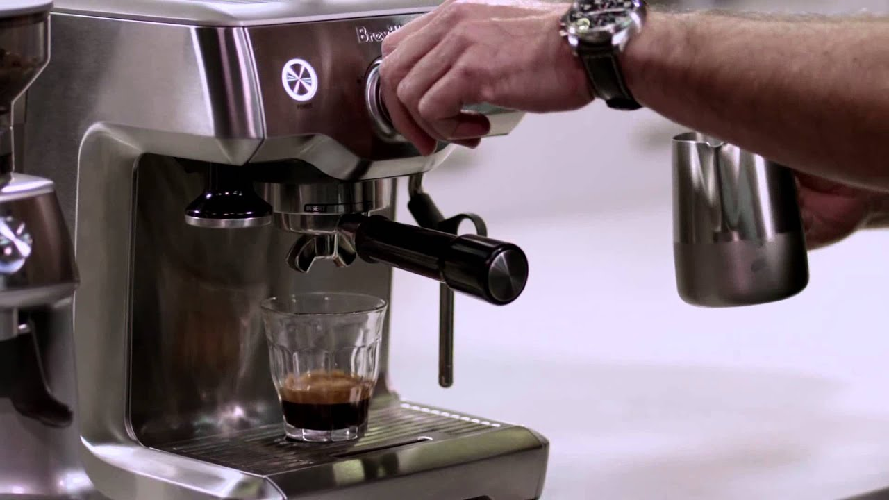 Breville Duo Temp Pro Espresso Machine