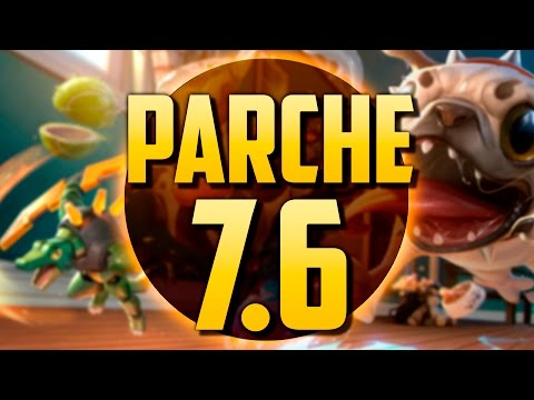 LA SKIN DE MI PERRO   PARCHE 7.6 (League of Legends)