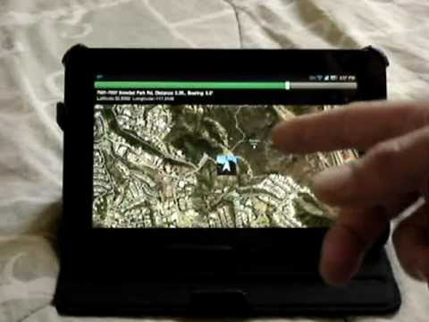 Video of GPS Map
