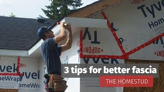 Tips for installing aluminum fascia (Everything Garage Part 7)