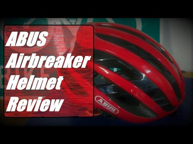 Видео Шлем велосипедный Abus AirBreaker Neon Yellow