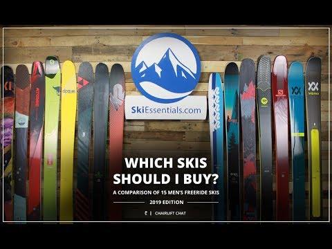 2019 Men's Freeride Ski Comparison