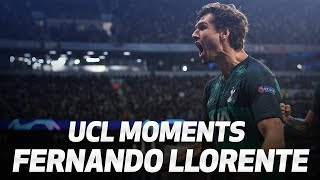 BEST UEFA CHAMPIONS LEAGUE MOMENTS | FERNANDO LLORENTE